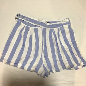 Pair of linen shorts.